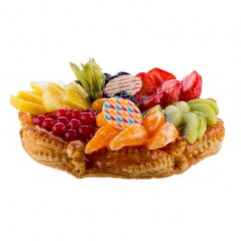 Open confiture taart