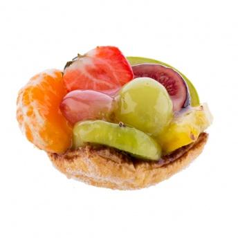 Vruchten schelp gebak