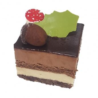 Café noir dessert gebak