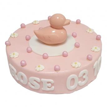 Geboorte taart meisje