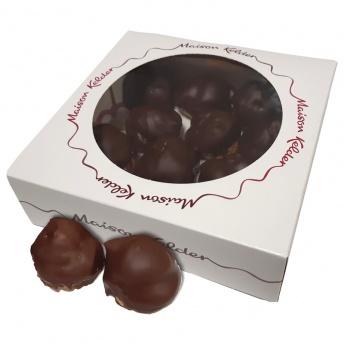 Slagroomsoesjes chocolade 12 stuks