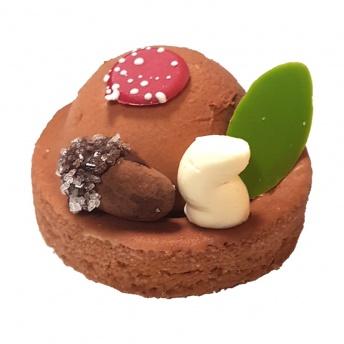 Chocolade caramel gebak